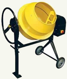 3.5 cu. ft. electric cement mixer