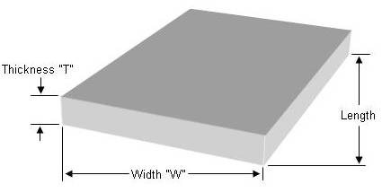 square or rectangular concrete pad
